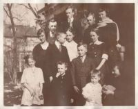 John B Cannon and Zina Bennion Cannon Family (1918)