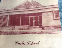 Curtis School west entrance