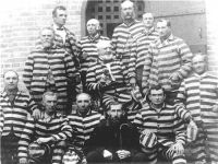 Polygamists in prison stripes